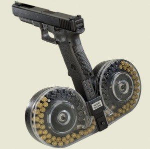 100 round snail drum for glock