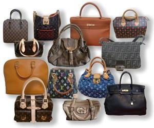 counterfiet designer handbag