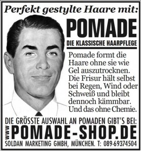 german pomade ad