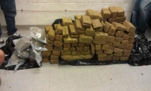 Bricks of Marijuana