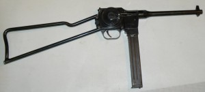 french folding submachine gun