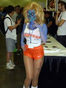 hooters girl zombie