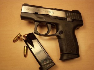 taurus pt111 with magazine