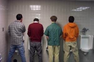 guys using urinals