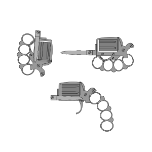 apache revolver drawing