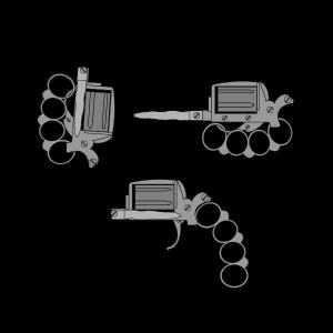 apache revolver drawing