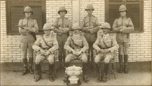triumphant pistol team circa 1900