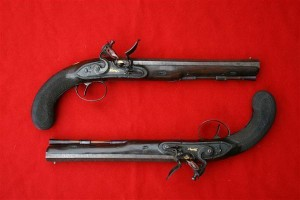 pair of dueling pistols 2
