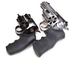 j frame and standard cylinder revolvers