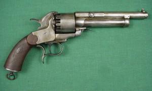 lemat cap and ball revolver
