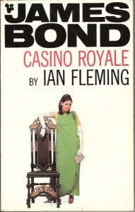 cover of the spy novel casino royale by ian fleming