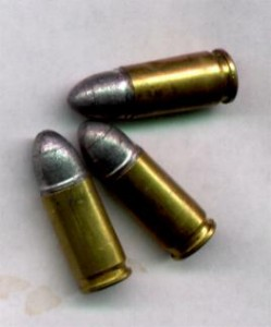 standard 9mm lead ammo