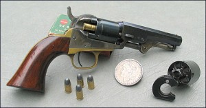 cartridge conversion of a cap and ball handgun