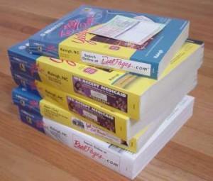 phone books