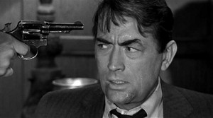 gregory peck with a fgun to his head