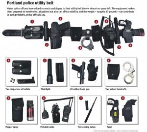 portland police utility belt