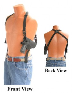 shoulder holster with belt loops 2