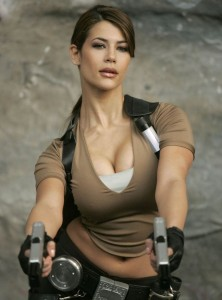 well endowed lara croft