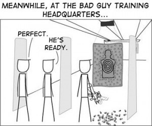 bad guy firearm training