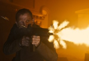 james bond muzzle flash