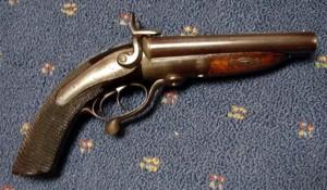 19th century howdah pistol 1