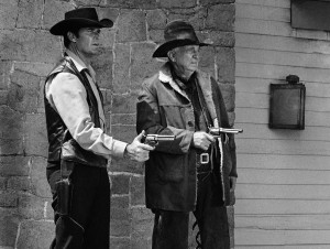 james garner and walter brennan in the tcv western maverick