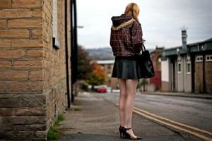 prostitute on street corner