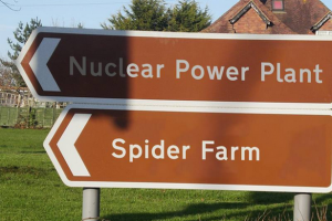 spider farm nuclear power plant