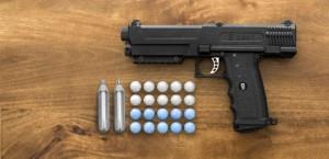 salt gun