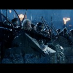 archers on the wall at helms deep