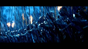 orc army at helm's deep