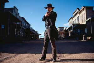 kevin costner in the 1994 movie wytt earp