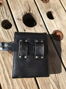 sneaky pete holster back