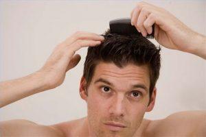 comb through hair