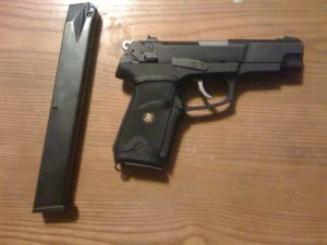 ruger p89 with extended magazine
