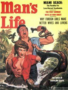 mans life snakes